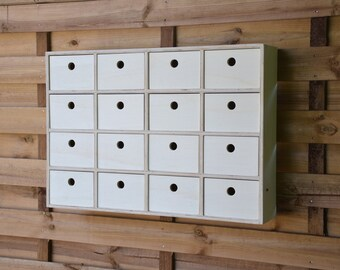 Wall lockers 16 drawers Cabinet