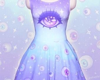 "Blue ""Starry Eyes"" Dress"