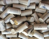 100 assorted wine corks- synthetic