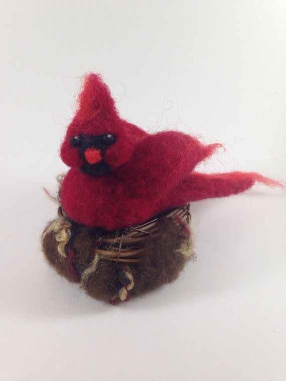 red bird nest and - photo #29