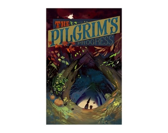 Over the Garden Wall - The Pilgrim's Progress Poster