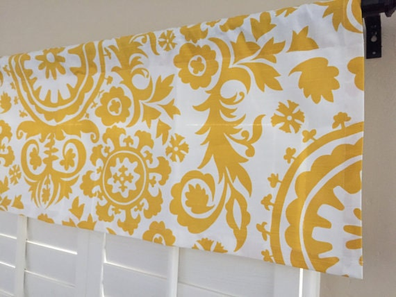 window curtain valance kitchen window by homemakeover on etsy