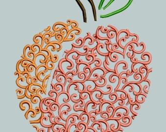 GG 1463 Swirly Peach