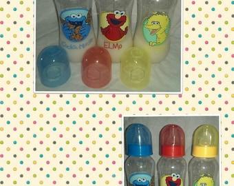 Sesame Street Doll Bottles