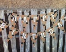 Halloween Happy Birthday Banner XL Pennants 2.00 Shipping