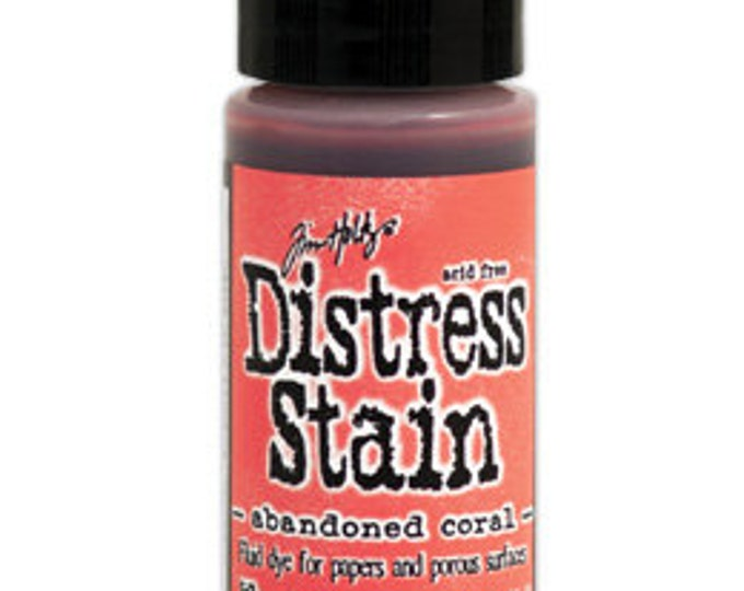 Tim Holtz Distress Stain - ABANDONED CORAL February 2015