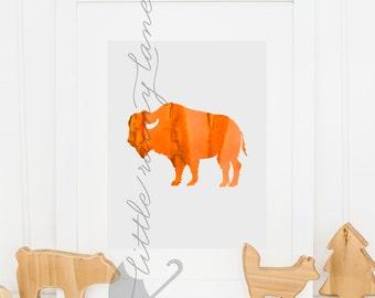 Buffalo - Buffalo Print - Buffalo Art