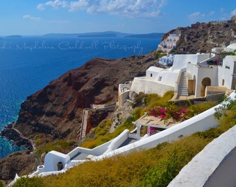 Santorini Greek Islands Aegean Sea - Wall Art