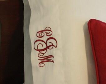 Monogrammed Pillowcases- Set of 2
