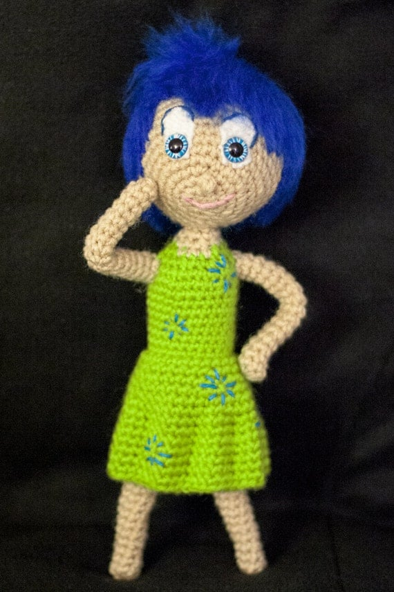 Tristezza Inside Out Amigurumi : Joy (Inside Out) Amigurumi Crochet Pattern from ...