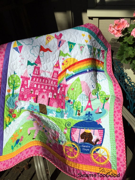 Crib Size Quilt Sweet Dreams Castle Baby Or Toddler Crib