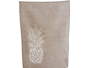 Juice It Up White Pineapple Tea Towel