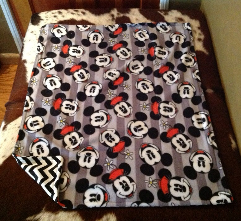 Disney mickey mouse minnie mouse baby blanket by