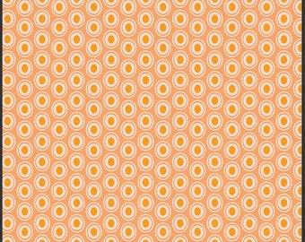 One Yard - 1 Yard of Oval Elements Peaches 'n Cream - Art Gallery Fabrics