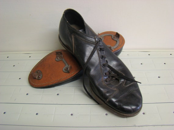 vintage leather cleats vintage wilson baseball shoes
