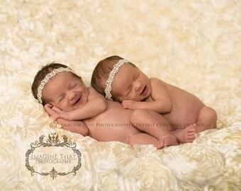 Ava Pearl Headband Newborn Pearl Headband Pearl Halo Headband Baby Girl Pearl Headband