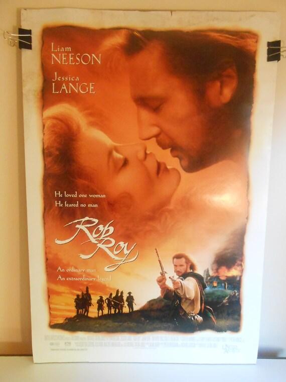 Rob Roy 1995 Original 2 Sided Movie Poster Liam Neeson