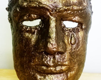 Hero Mask - Antique Bronze Finish