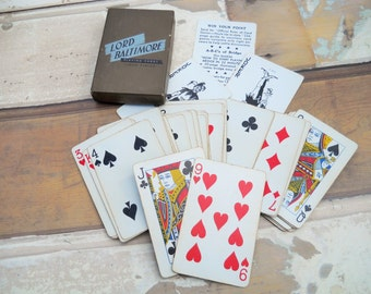 Vintage Lord Baltimore Playing Cards