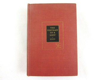 Portrait of a Lady by Henry James - Hardcover (c1950)
