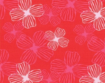 Half Yard Daydreams - Reverie in Scarlet Red - Cotton Quilt Fabric - designed by Kate Spain for Moda Fabrics - 27172-17 (W2797)