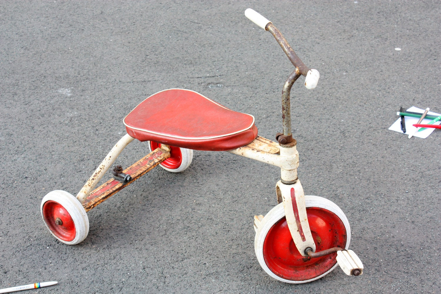Vintage Toys From The 60s : Tricycle s vintage trike children toy kids
