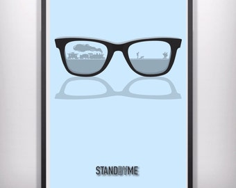 Stand by me  minimal minimalist movie film print poster