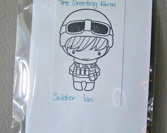 Soldier Ian by The Greeting Farm...