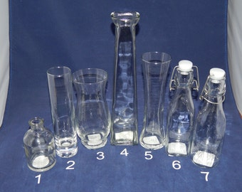 Additional Pouring Vases / Bottles for Sand Unity Ceremony