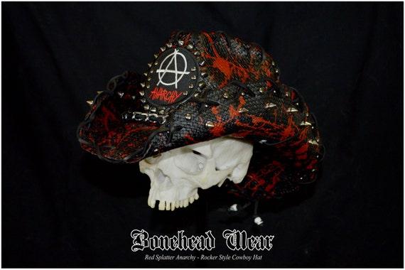 Skull Cowboy Hat Cowboy Hat Size Sm/md