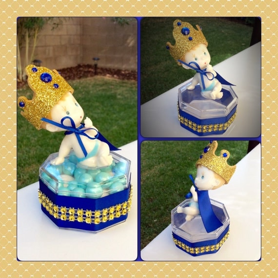 Prince Baby Shower Favors: 12 Royal Blue Baby Shower Favors Little By Marshmallowfavors