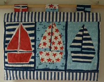 Nautical Quilted Wall Hanging