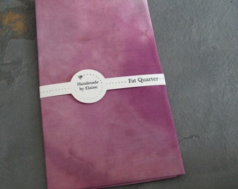 Plum Damson Berry Purple Fat Quarter - hand dyed fabric, purple fat quarter, blackberry fabric, plum purple fabric, lilac damson fabric 1806