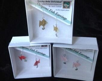 Origami Fish Jewelry