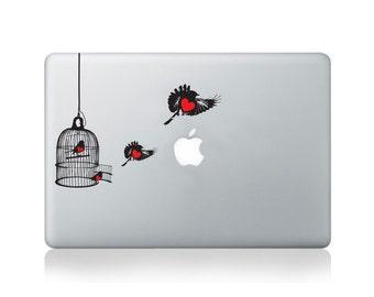 Love Robbins Vinyl Sticker for Macbook (13/15) or Laptop