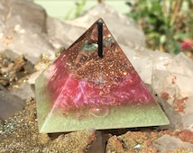 Orgonite Pyramid for Manifesting Luck