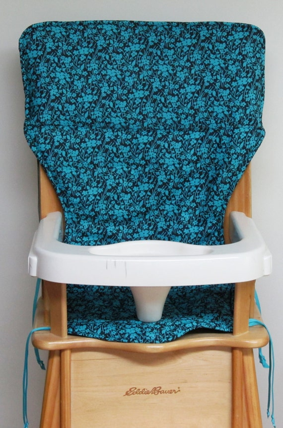 Eddie Bauer Wooden High Chair Pad Baby By Sewingsillysister