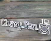 Vintage Chevy Van Emblem