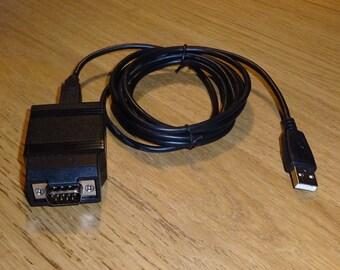 USB joystick adapter for 9 pin D Commodore / Atari style Joysticks