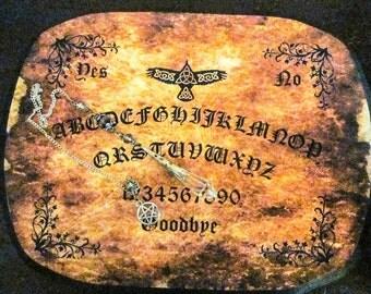 Spirit Board - Celtic Raven Pendulum Board Personal Spirit Board