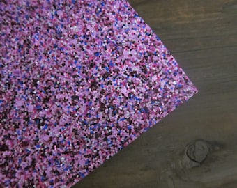 Glitter Material Pink Party Mix Canvas Fabric 8X10 sheet