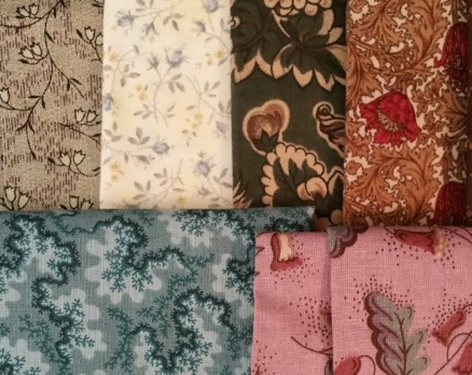 Scrappy Quilt Cotton Woven Fabric
