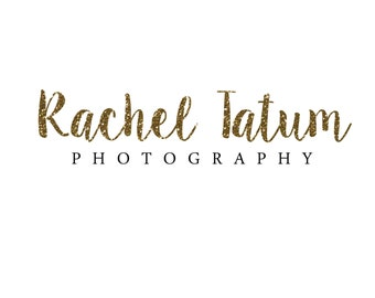 "Custom Premade Photography Logo and Watermark ""Glitter"" - Exclusive Package Bulk Rate"