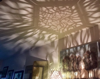 Twisty Tree Shadow Lamp