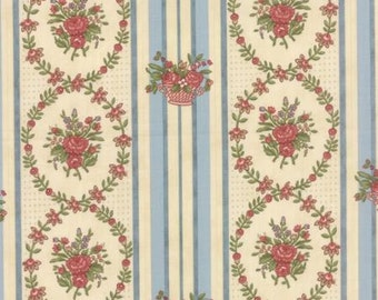 Country Orchard by Blackbird Designs - Wild Bouquet Morning Sky - 1/2yd