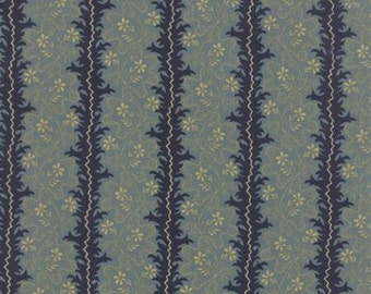 Sticks and Stones Branches Blue - 1/2yd