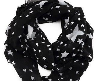 Night Sky Star Scarf