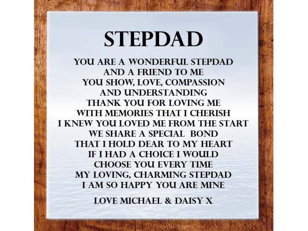 Happy Birthday Step Dad Poems | www.imgkid.com - The Image ...