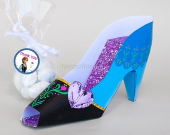 Ice Princess Paper Shoe Gift Box-1