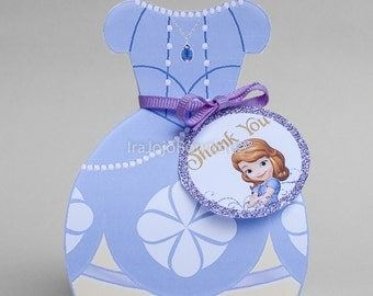 First Princess Gift Box, Favor Box, Goodie Box.